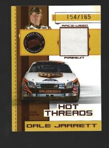 RACE USED 2006 Press Pass Hot Threads #HTT7 /165 Dale Jarrett NASCAR Auto Racing