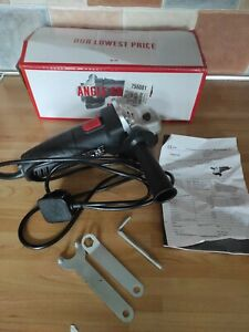 Simple ValueAngleGrinder- 500W.115mm 500w Angle Grinder.240v.  used once