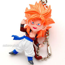Gogeta Super Saiyan 4 DragonBall UDM 08 mini Figure Key Chain Authentic BANDAI
