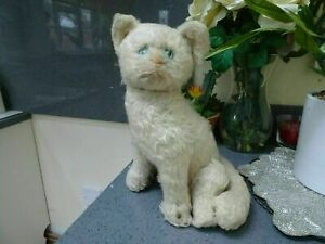 RARE 1930s FARNELL ALPHA Wind Up Musical Toy Cat