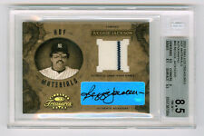 Reggie Jackson 2003 Timeless Treasures 3/5 HOF Materials Autographs Auto SP Cuts
