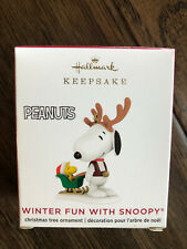 Hallmark 2020 Winter Fun With Snoopy # 23 In Series Ornament