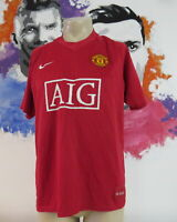 Vintage Manchester United 2007 2008 2009 home shirt Nike jersey size L