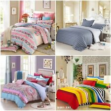 Doona/Quilt/Duvet Cover Set King/Queen/Double/Single Size Bed Pillowcases Floral