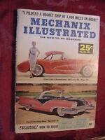 MECHANIX ILLUSTRATED Magazine February 1956 Chevrolet CORVETTE Ford MYSTERE