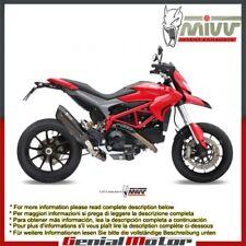 Terminale Scarico MIVV Suono Nero inox per Ducati Hypermotard 821 2013 > 2015