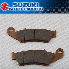 NEW 2013 - 2017 SUZUKI DR-Z400SM DRZ 400 SM OEM FRONT BRAKE PAD SET 59300-29860