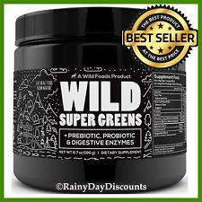 Green Superfood Powder Organic Super Greens With Digestive Enzymes Vegan & Keto