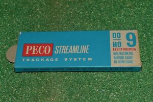 PECO Switch Right Ref Sle 491 X Track 00 / Ho - 9 Millimeter IN Box Good