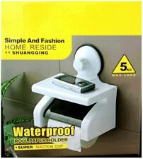 Waterproof roll paper Holder super suction cup hold max weight up to 5 kg