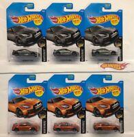 Lot of 6 - Hot Wheels '17 NISSAN SKYLINE GT-R (R35) Burnt Orange & Gray NIP