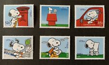 Portugal Snoopy Stamp Set Of 6 2000 mnh Peanuts Animated Cartoon Character Comic