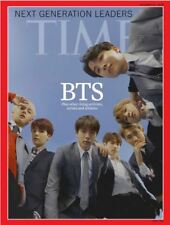 BTS Cover TIME Asian Edition October 2018+Unfolded BTS Poster, Tracking Num, EMS