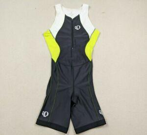 Pearl Izumi Select Cycling Bib Shorts Black/Neon Zip Women's Sz Large Padded