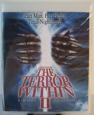 The Terror Within II 2 Blu-ray (2017 - Code Red OOP) Andrew Stevens R. Lee Ermey