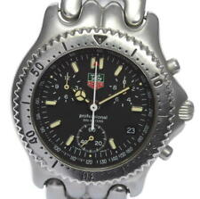 TAG HEUER Sel S39.306 Date Chronograph black Dial Quartz Men's Watch(a)_526776