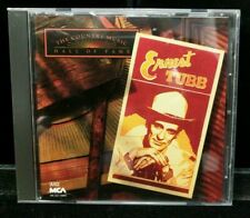 Used Ernest Tubbt : The Country Music Hall of Fame CD Inventory Lot M20-CCC