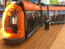 LEGO CITY - Orange Tram Split From 60097 Lego City Square