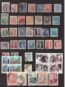Brazil used stamps selection