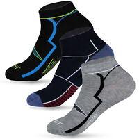 12-48 Paar Sneaker Socken Damen Herren Baumwolle Kurz Füßlinge Sport Sommer ✅