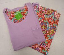 Women's Vera Bradley Shorts Pajama Set Large Paisley