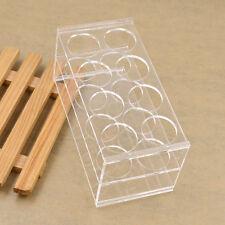 Clear Plastic 8 Sockets Test Tube Holder Test Tube Rack Acrylic Laboratorysupply