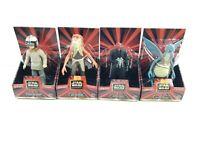 "Star Wars Episode 1 Skywalker Jar Jar Watto Darth Maul 6"" Figures Set of 4 New"