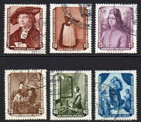 East Germany Set of 6 Stamps c1955 (Dec) Fine Used (8111)