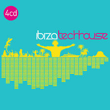 CD Ibiza Techhouse von Various Artists 4CDs