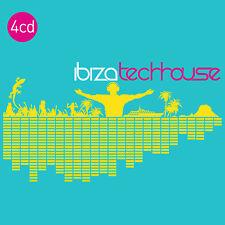 CD Ibiza Techhouse von Various Artists 4CDs