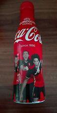 Coca Cola Aluflasche - Euro 2016 France for Belgien 3/4 - Alu Flasche Bottle