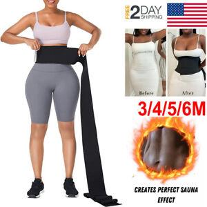 Snatch Me Up Bandage Wraps Lumbar Waist Support Sauna Belt Trimmer Body Shaper