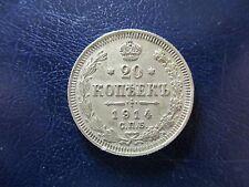 RUSIA - RUSSIA - URSS 20 KOPEK 1914