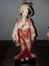 """Japan 4 DollsVintage12""""Japan ese Nishi 1GeishaBride Vintage 12""""Geisha Doll+ 2-9"""""""