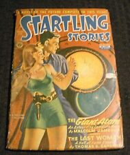 1944 Winter STARTLING STORIES Pulp Magazine v.10 #2 VG- 3.5 The Giant Atom