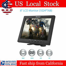 "8"" Portable Digital HD TFT LCD Monitor VGA BNC Video Audio DVR HDMI Input B01"