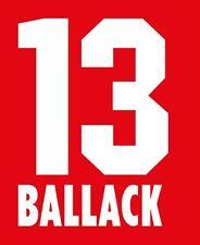 BALLACK #13 BAYER LEVERKUSEN calcio HOME 1998-2001 Nameset per maglia