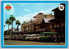 Jodenbree Street near Kirpalani Paramaribo, Suriname Continental Postcard