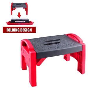 Heavy Duty Foldable Step Stool 150Kg Work Home Jobsite Caravan Gardening Stand