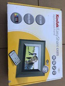 "Kodak Easyshare Ex811 Digital Picture 8"" Frame 800x480 New"
