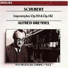 ALFRED BRENDEL - IMPROMPTUS D 899,935  CD  8 TRACKS SOLO PIANO SCHUBERT  NEW+