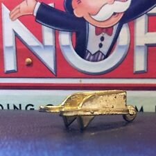 GOLD Tone WHEELBARROW Token Game Piece MONOPOLY Deluxe Edition 1998