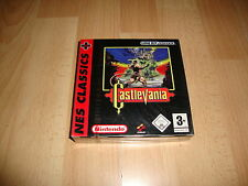 Castlevania NES Classics Konami Nintendo Game Boy Advance GBA Factory