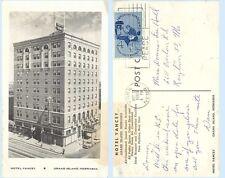 Hotel Yancey Grand Island Nebraska Advertising 1960 Postcard -Architecture