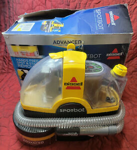 BISSELL SpotBot Portable Spot Stain Carpet Cleaner Advanced Deep Clean Pet Auto