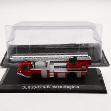 Atlas 1/72 DLK 23-12 n.B.Iveco Magirus Fire Engine Diecast Models Collection Red