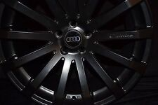 19-inch Audi S4 S5 S6 S8 TT TTS Wheels/Rims HR9 Matte Black