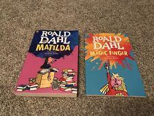 Roald Dahl Books x2 Matilda & The Magic Finger