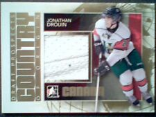 JONATHAN DROUIN 13/14 AUTHENTIC PIECE WITH SEAMS OF A GAME-USED JERSEY /10