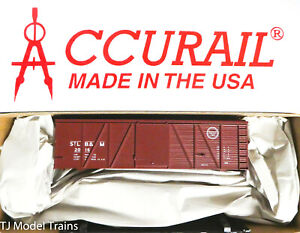 Accurail HO #1181 (Rd #2016) St Louis Brownsville & Mexico 36' Fowler Wood Box